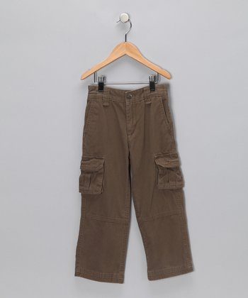 Brown Cargo Pants - Toddler & Boys