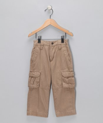 Tan Cargo Pants - Toddler & Boys