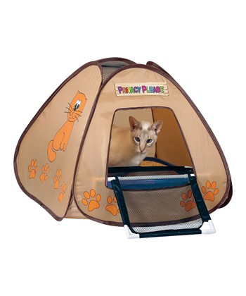 Cat Litter Box Privacy Tent