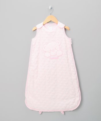 Pink Teddy Bear Sleeping Sack
