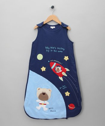 Navy Outer Space Sleeping Sack