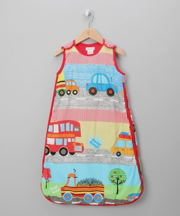 Red Automobile Sleeping Sack