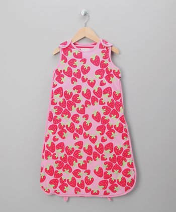 Pink Strawberry Sleeping Sack