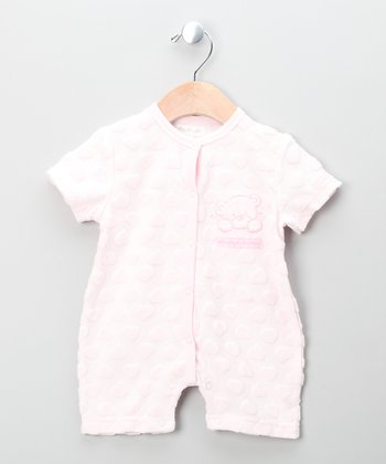 Pink Teddy Bear Romper
