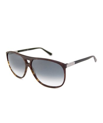 Gucci Dark Havana Tortoise Sunglasses
