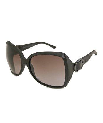 Gucci Black Buckle Sunglasses