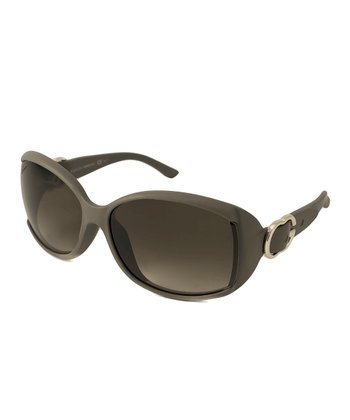 Gucci Black & Gold Gradient Buckle Sunglasses