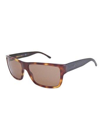 Gucci Black & Brown Havana Sunglasses