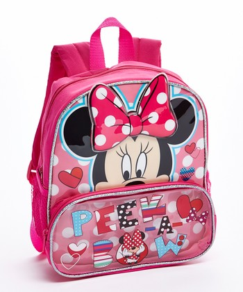 Minnie Mouse 'Peek-A-Bow' Backpack