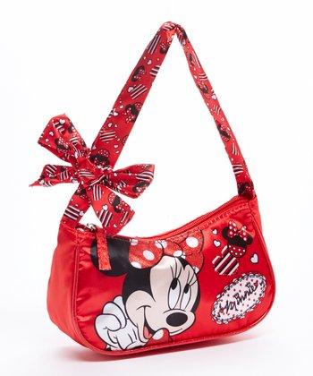 Red Minni Mouse Bow Handbag