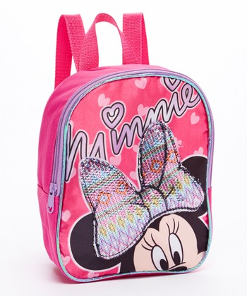 Minnie Mouse Sequin Bow Mini Backpack