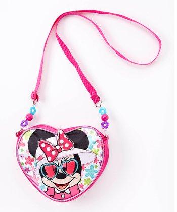 Minni Mouse Heart Crossbody Bag