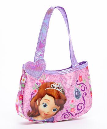 Sofia the First Heart Hobo Bag
