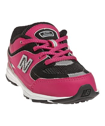 Pink & Black Toddler K2001 Running Shoe