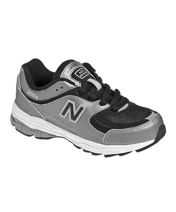 Gray & Black K2001 Running Shoe