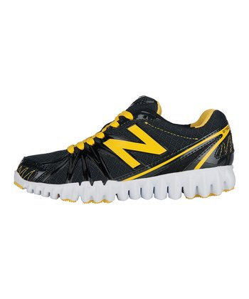 Black & Yellow NB Gruve 2750 Running Shoe
