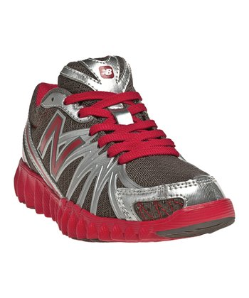 Gray & Red K2750 Running Shoe