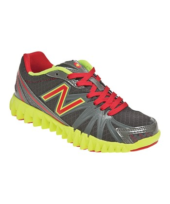 Gray & Red Gruve K2750 Running Shoe