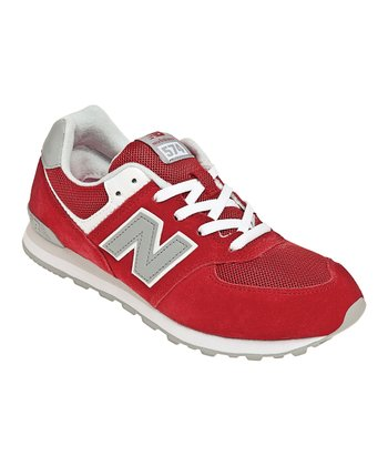 Red & Gray KL574 Running Shoe