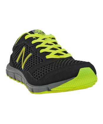 Black & Neon Green 630v2 Running Shoe - Men