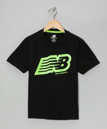Lime Logo Tee - Boys