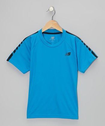Blue Performance Tee - Boys