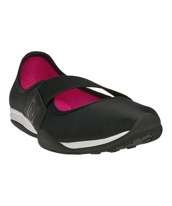 Black 101 Athletic Slip-On Shoe - Women