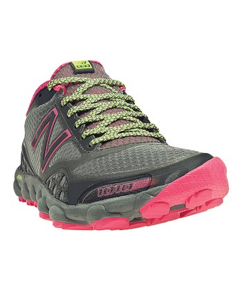 Gray & Diva Pink Minimus 1010 All-Terrain Running Shoe