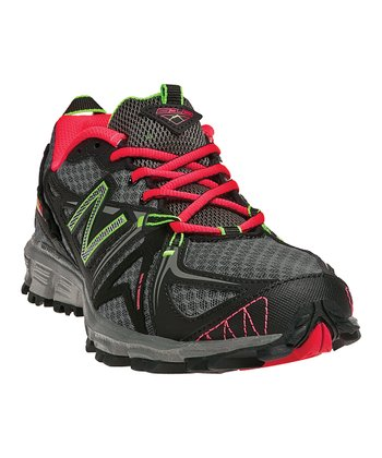 Black & Diva Pink WT610v2 All-Terrain Running Shoe