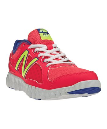 Poppy Red & Purple NBGruve 1157 Cross-Training Shoe