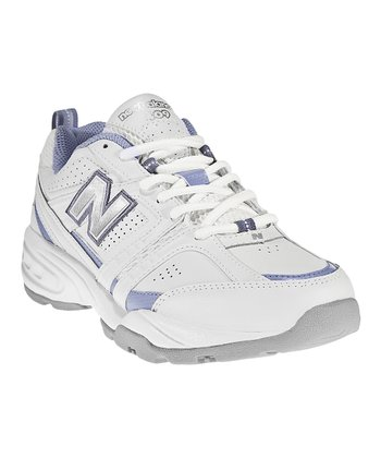 White & Blue 409 Cross-Training Shoe - Women