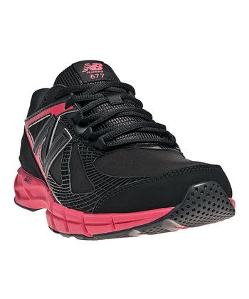 Black & Diva Pink 877 Cross-Training Shoe