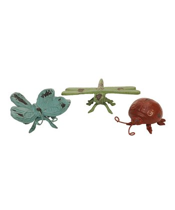 Bright Insect Figurine Set