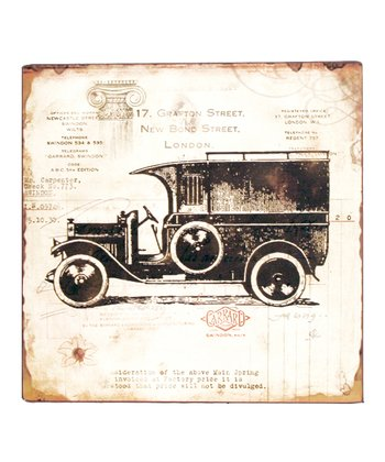 Antique Automobile Sign