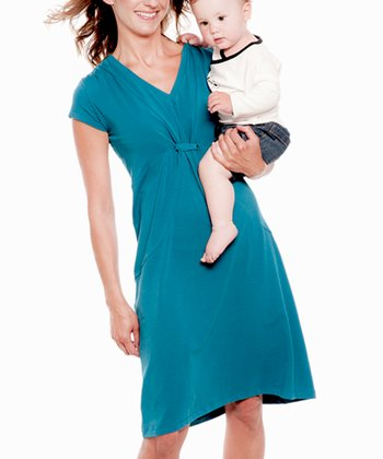 Ocean Tanja Organic Nursing Dress - Women