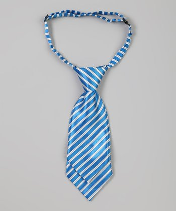 Light Blue Stripe Adjustable Tie