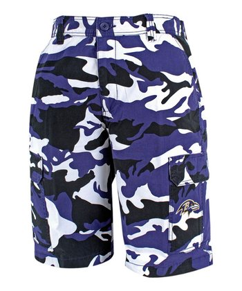 Baltimore Ravens Camo Shorts - Men