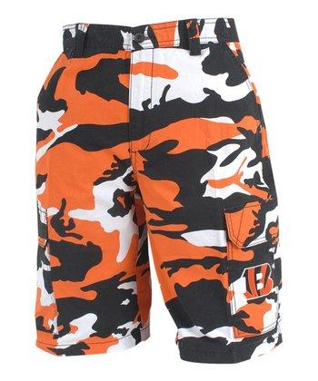 Cincinnati Bengals Camo Shorts - Men