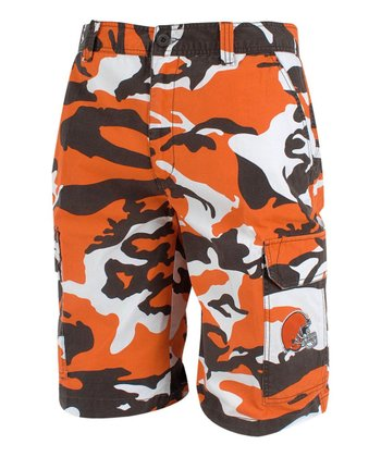 Cleveland Browns Camo Shorts - Men