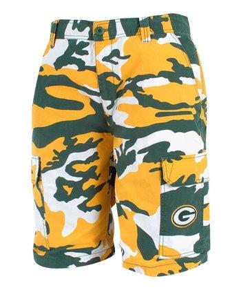 Green Bay Packers Camo Shorts - Men