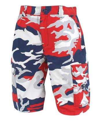 New England Patriots Camo Shorts - Men