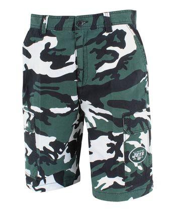 New York Jets Camo Shorts - Men