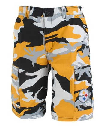 Pittsburgh Steelers Camo Shorts - Men
