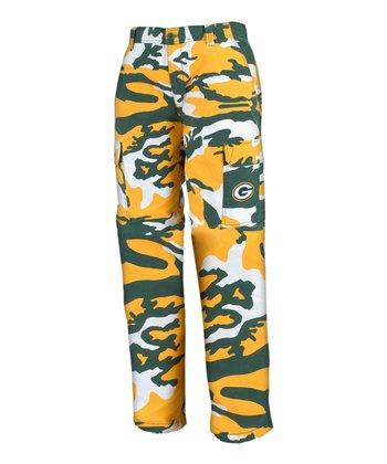 Green Bay Packers Camo Pants - Men