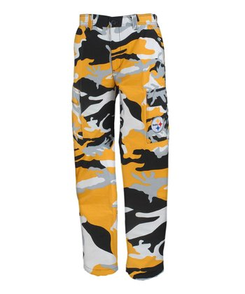 Pittsburgh Steelers Camo Pants - Men