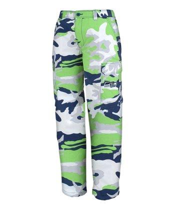 Seattle Seahawks Camo Pants - Men