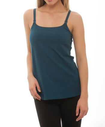 Blue Nursing Camisole