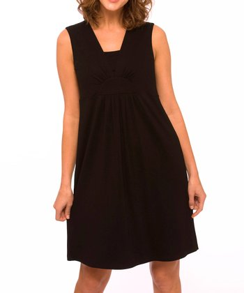 Black Nursing Nightgown