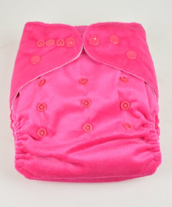 Princess Minky Pocket Diaper