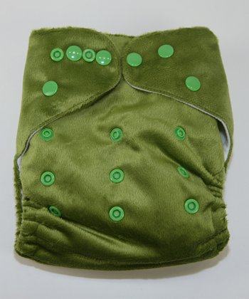 Irish Luck Minky Pocket Diaper
